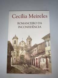 Livro Romanceiro da Inconfidência de Cecília Meireles