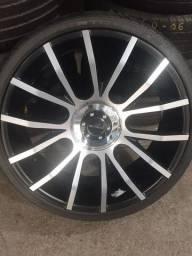 Vendo jogo de roda com pneus