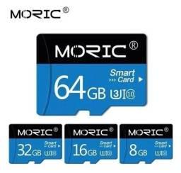 Cartão De Memória Micro Sd Moric 64gb Classe 10 Original