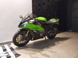 Kawasaki zx10r 2014 com acessorios