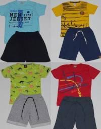 Kit 4 Conjuntos De Roupas Infantil Masculino 4 Anos