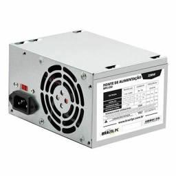 Fonte ATX 230W Brazil PC BPC-230V1.2 OEM<br><br>