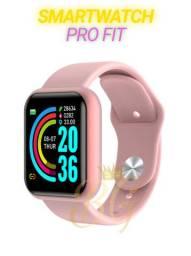 PROMOÇÃO-Smartwatch D20/Y68 Rose Gold