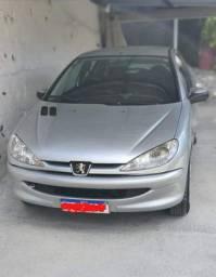 Carro Peugeot 1.4 Flex - modelo 206 ano 2007 - leia a descrição!