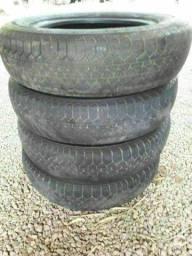 4 pneus Fusca (movimentacao)