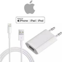 Carregador Usb + Cabo Similar iPhone 5 6 7 8 Plus S X Xr Xs