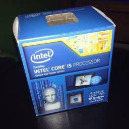 Caixa com cooler box i5 4670k