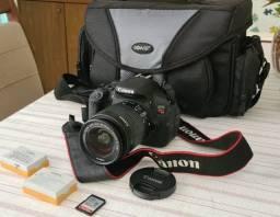 Canon Eos Rebel T5i 18-55mm Com Maleta, 2 Baterias E Sd32gb