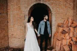 Vestido ensaio de casamento