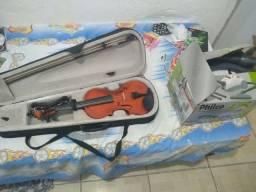violino e aspirador de pó (Vendo)