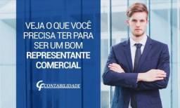 Representante comercial e tele marketing