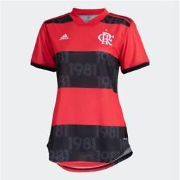 Camiseta Flamengo feminina home 20/21