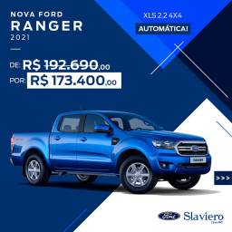 Ford Ranger XLS 2.2 (160cv Turbo) Diesel 4x4- AUT. 2021 0km - Polyanne