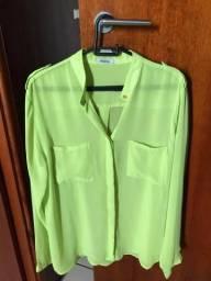 Camisa verde neon