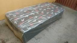 Cama Box Solteiro Ortopédica # Frete Grátis!!