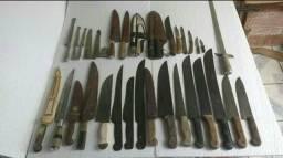 Vendo colecção de facas e facões