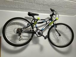 Bike aro 24 com 21 marchas