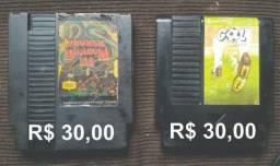 Double Dragon 3 e Gol - Nintendo 8 bits!