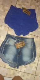 Shorts na promoção