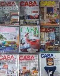 Revistas casa cláudia antigas