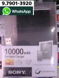 Bateria externa PowerBank portátil SONY