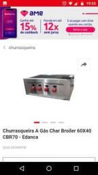 Chapa de lanche Char broiler