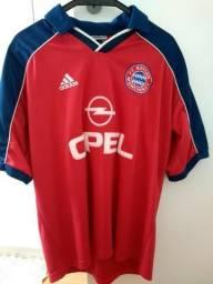 Camisa Bayern Munique Original Temporada 00 01 679149d7134