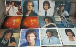 Coletânea de discos de vinil do Rei Roberto Carlos