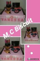Caixa De Maquiagem Em Biscuit