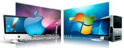 Assistência Técnica Profissional em Informática - Windows/Mac + Instalação de Programas