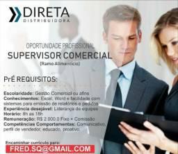 Supervisor Comercial - Vendas de alimentos saudáveis