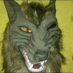 Mascara de lobo para carnaval