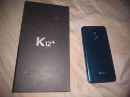 LG K12+ praticamente novo