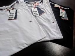 Blusa Masculina Tommy Luxo aviamento Peruano fio 30.1