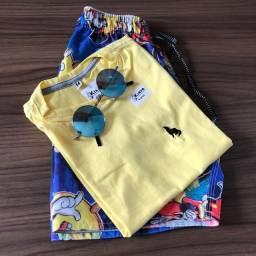 3 camisas infantis por 70 reais
