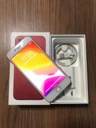 Vendo iPhone 7 red 128 g ou troco por caixa de som JBL boombox