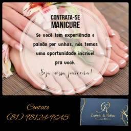 Contrata- se manicure