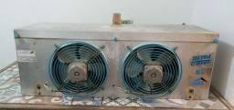 Evaporadora + condensadora para câmara frigorífica