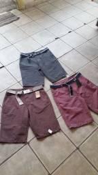 Bermudas Jeans e Brim