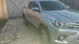 Hilux srx top diesel particular único dono Carro revisada toyota - 2017