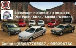 Bloqueador Sem Botao Linha Fiat Palio Strada Siena Uno Punto (Ja Instalado)