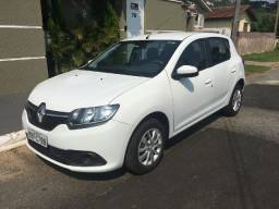 Renault Sandero 1.0 Expression 2017 - Única Dona