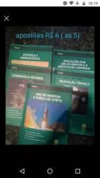 Livros e apostila