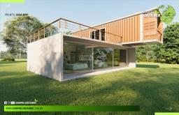 Casa com 90m² - Estrutura Modular