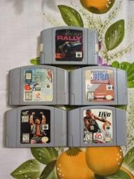Vendo jogos de Nintendo64