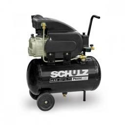 Título do anúncio: Compressor Pratic Air 8,5 Pés 2 HP 25L Monofásico - CSI-8525-AIR - Schulz