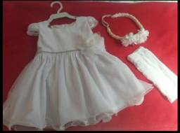 Vestido Branco completo