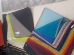 Retalhos de tecido lote com 20 placas 10,00 cores diversas
