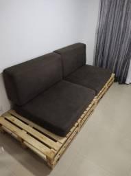 Sofá de 4 lugares pallet