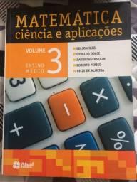 Livro Matemática - Ciência e aplicações - Gelson Iezzi Vol. 3